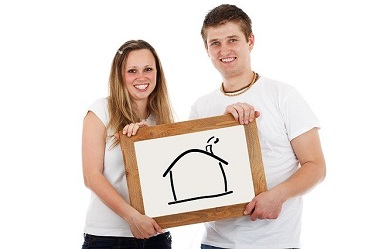 home buying couple